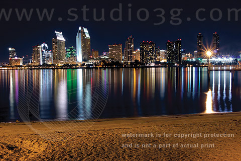 Photo of San Diego Bay by Ryan Belong © 2012, All Rights Reserved.